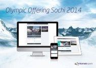Olympic Offering Sochi 2014