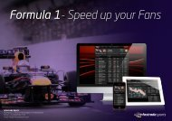 Formula 1- Speed up your Fans