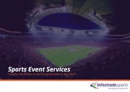 Sports Event Services