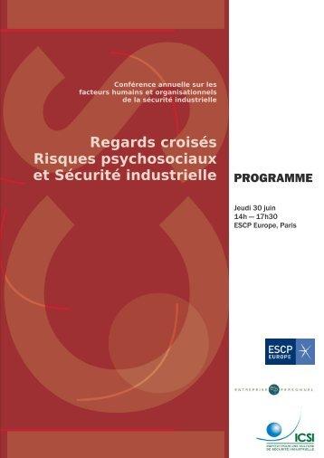Risques psychosociaux et Sécurité industrielle
