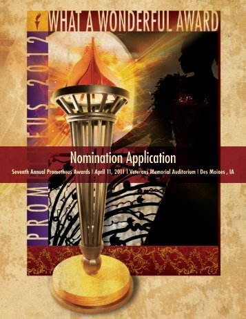 Nomination Application
