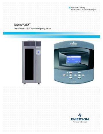 Liebert® XDF™ - Emerson Network Power