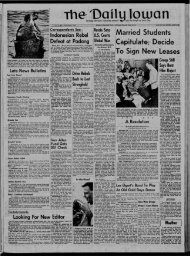 April 19 - The Daily Iowan Historic Newspapers