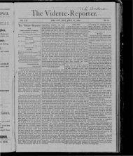 The Vldette-Reporter