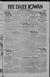 September 27 - The Daily Iowan Historic Newspapers