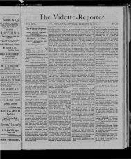 'The Vidette-Reporte·r