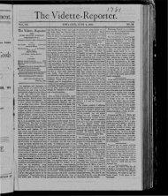 The Vidette- Reporter