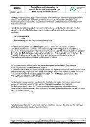 2530FO Anmeldung und Information zur medizinischen und ...