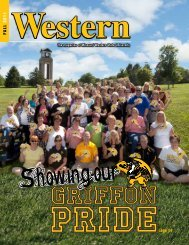 f all 2011 page 14 - Missouri Western State University