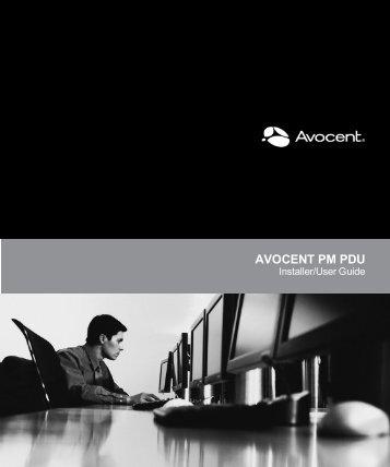 Avocent PM PDU - Emerson Network Power