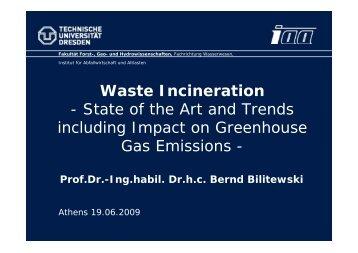 Gas Emissions -