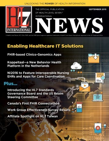 In this Issue HL7 News