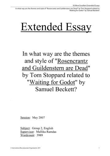 Minimum Word Limit For Extended Essay Abstract College Students Help