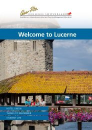 Welcome to Lucerne