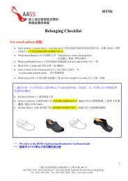 Belonging Checklist