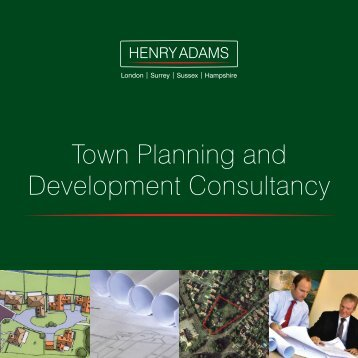 Town Planning and Development Consultancy