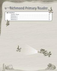 Richmond Primary Reader