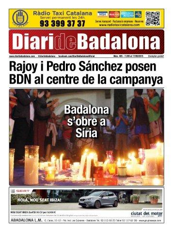 Rajoy i Pedro Sánchez posen BDN al centre de la campanya