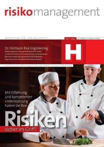 Risiken - Dr. Friedrich E. Hörtkorn GmbH