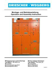 Montage- und Betriebsanleitung Operation and Assembly Instruction