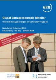 Global Entrepreneurship Monitor (GEM) - IAB
