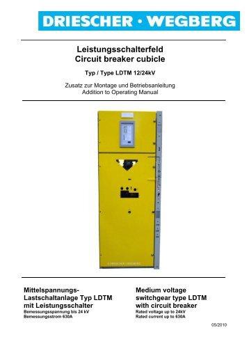 Leistungsschalter Circuit-breaker - Siemens
