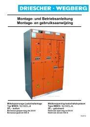 Montage- und Betriebsanleitung Montage  - Driescher • Wegberg