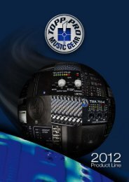 Download here the Topp Pro 2012 Product Line - Topp Pro ...