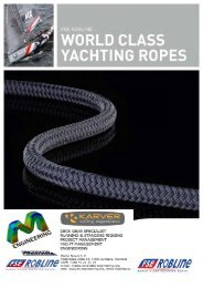 WORLD CLASS YACHTING ROPES