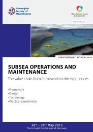 Subsea operations and maintenance