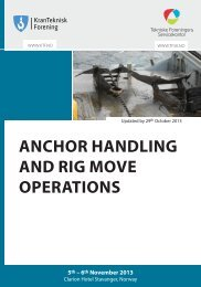 ANCHOR HANDLING AND RIG MOVE OPERATIONS