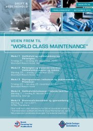 """World Class Maintenance"""
