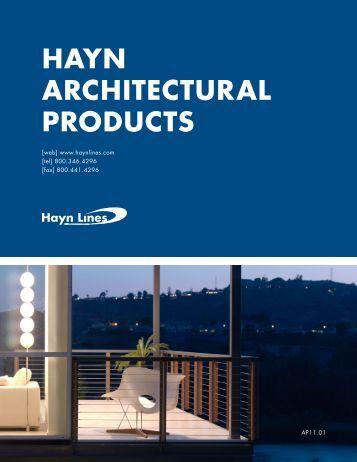 Part description list p for Architectural materials list