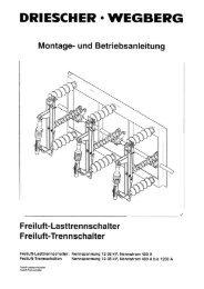 Bedienungsanleitung - Driescher • Wegberg