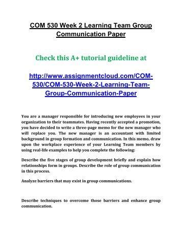 explain the process of communication pdf