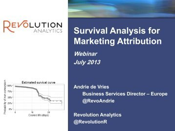 Survival Analysis for Marketing Attribution