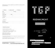 Renseignements et réservations 01 48 13 70 00 - www.theatregerardphilipe.com