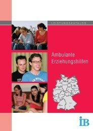 Ambulante Erziehungshilfen - Erziehungshilfen im IB