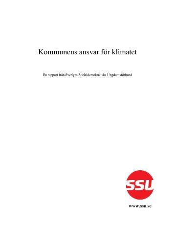 Kommunens ansvar för klimatet