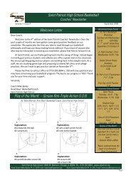 Volume 1 - Issue 4 - September 2009 - St. Patrick High School