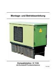 Montage- und Betriebsanlei-tung - Driescher • Wegberg