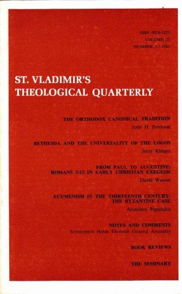 Papadakis–Ecumenism in the Thirteenth Century - Orthocath