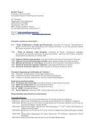 DUTOIT Thierry Professeur des Universités Université d ... - IMEP