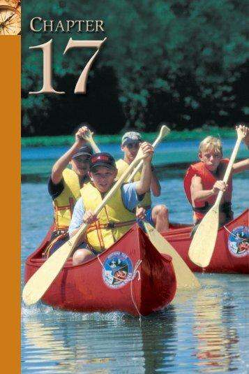 17 Canoeing