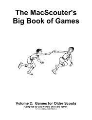 The MacScouter's Big Book of Games