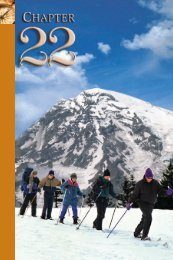 22 Ski Touring and Snowshoeing