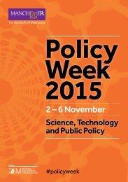 Policy Week 2015