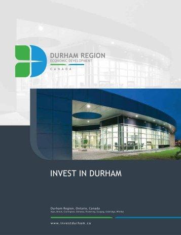 INVEST IN DURHAM