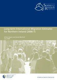 Long-term International Migration Estimates for Northern Ireland (2006-7)