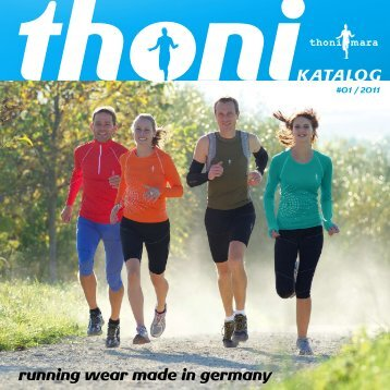 KATALOG running wear made in germany